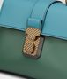 BOTTEGA VENETA THYME NAPPA MINI PIAZZA BAG Top Handle Bag D ep