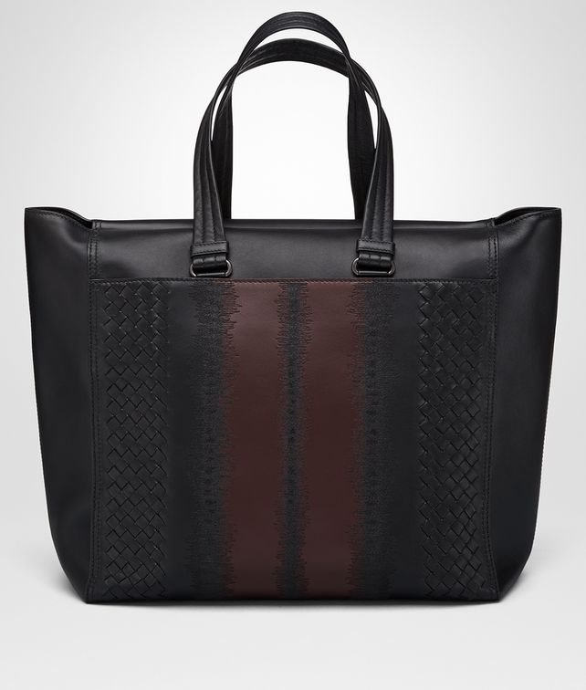 BOTTEGA VENETA NERO NAPPA FLY TOTE Tote Bag Man fp