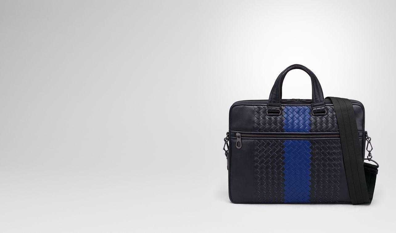 tourmaline intrecciato nappa briefcase landing