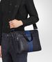 tourmaline intrecciato nappa briefcase Front Detail Portrait