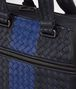 tourmaline intrecciato nappa briefcase Back Detail Portrait