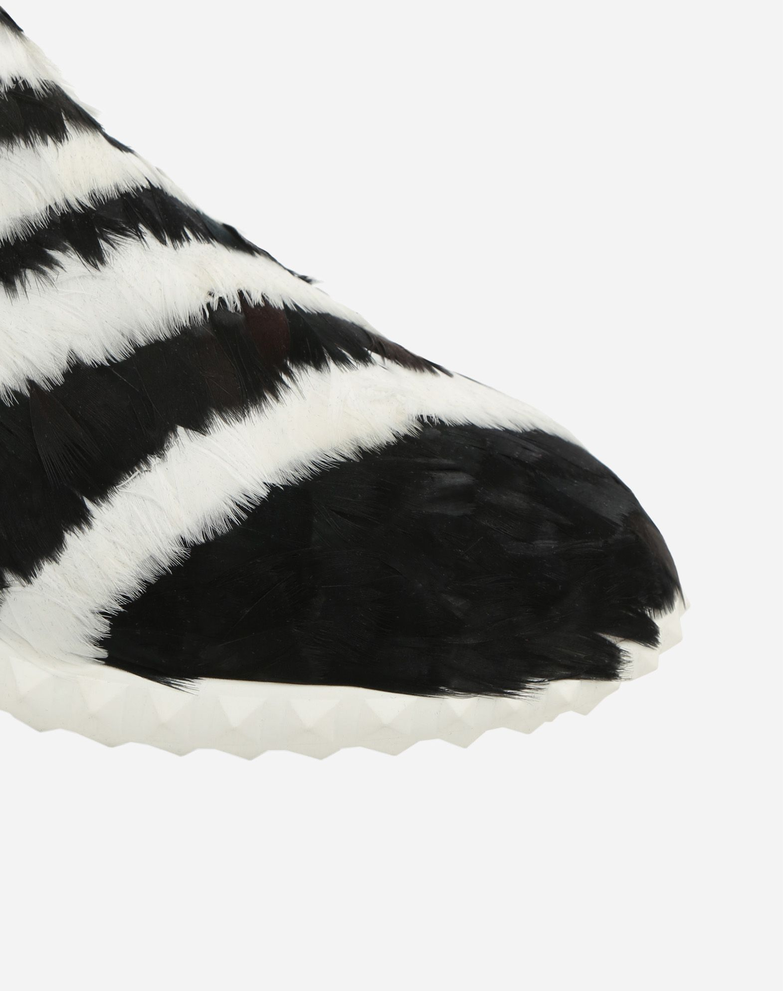 VALENTINO GARAVANI Sneakers con plumas SNEAKERS ALTAS D b