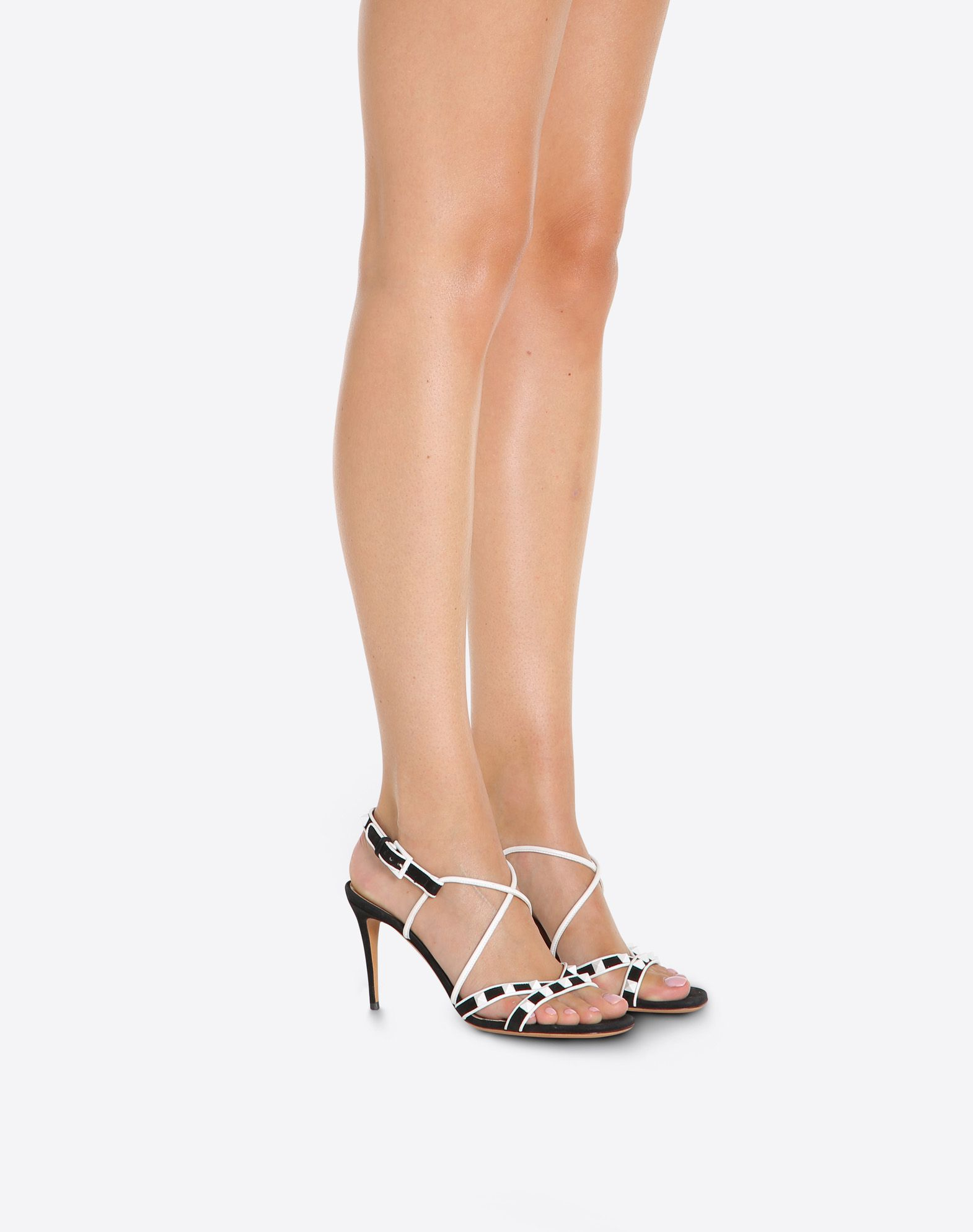 VALENTINO GARAVANI Free Rockstud 85mm Sandal HIGH HEEL SANDALS D a