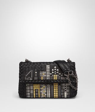 NERO NAPPA SMALL OLIMPIA TOWER BAG