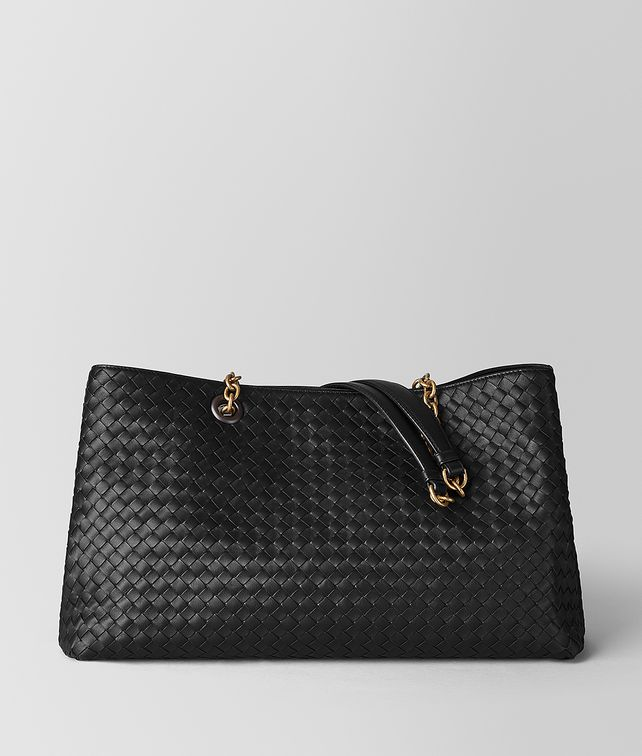 BOTTEGA VENETA NERO INTRECCIATO NAPPA TOTE Tote Bag [*** pickupInStoreShipping_info ***] fp