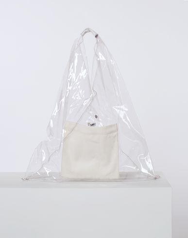 MM6 MAISON MARGIELA Handbag D Transparent PVC Japanese tote bag f