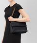 BOTTEGA VENETA TOURMALINE INTRECCIATO NAPPA MEDIUM OLIMPIA BAG Shoulder Bag Woman lp