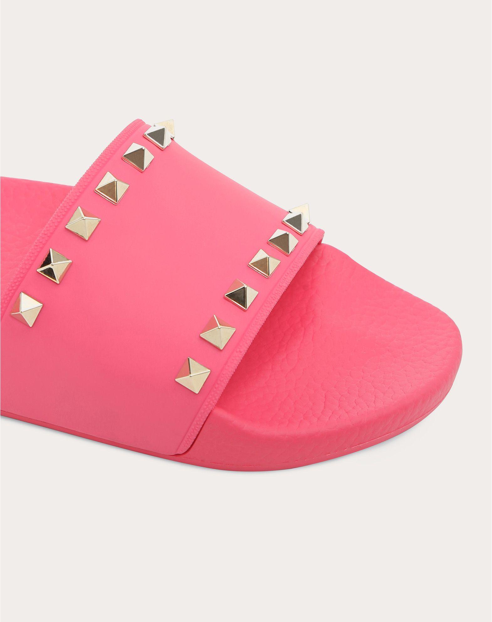 VALENTINO GARAVANI Rockstud PVC Slide Sandal SLIDE SANDAL D a