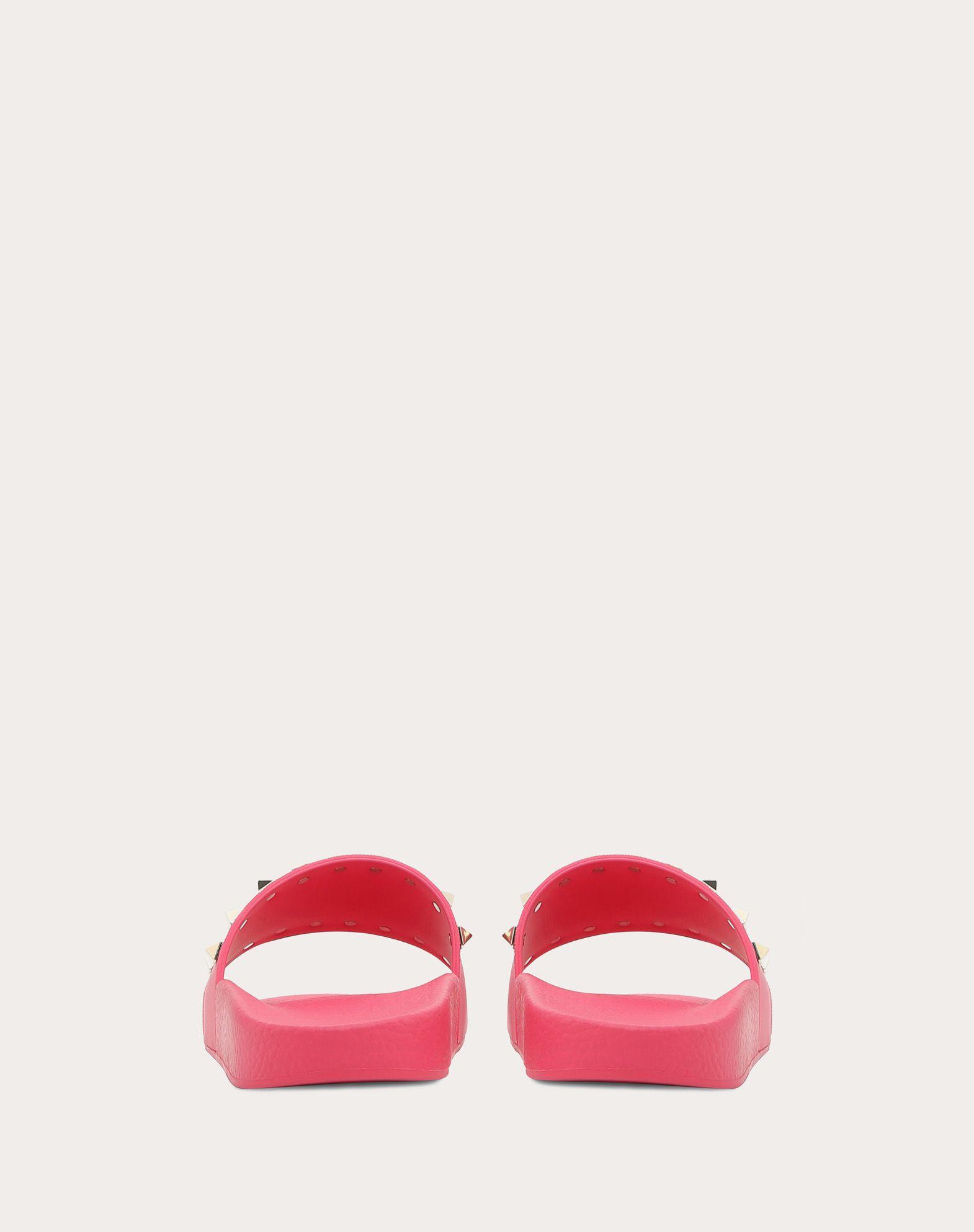 VALENTINO GARAVANI Rockstud PVC Slide Sandal SLIDE SANDAL D d
