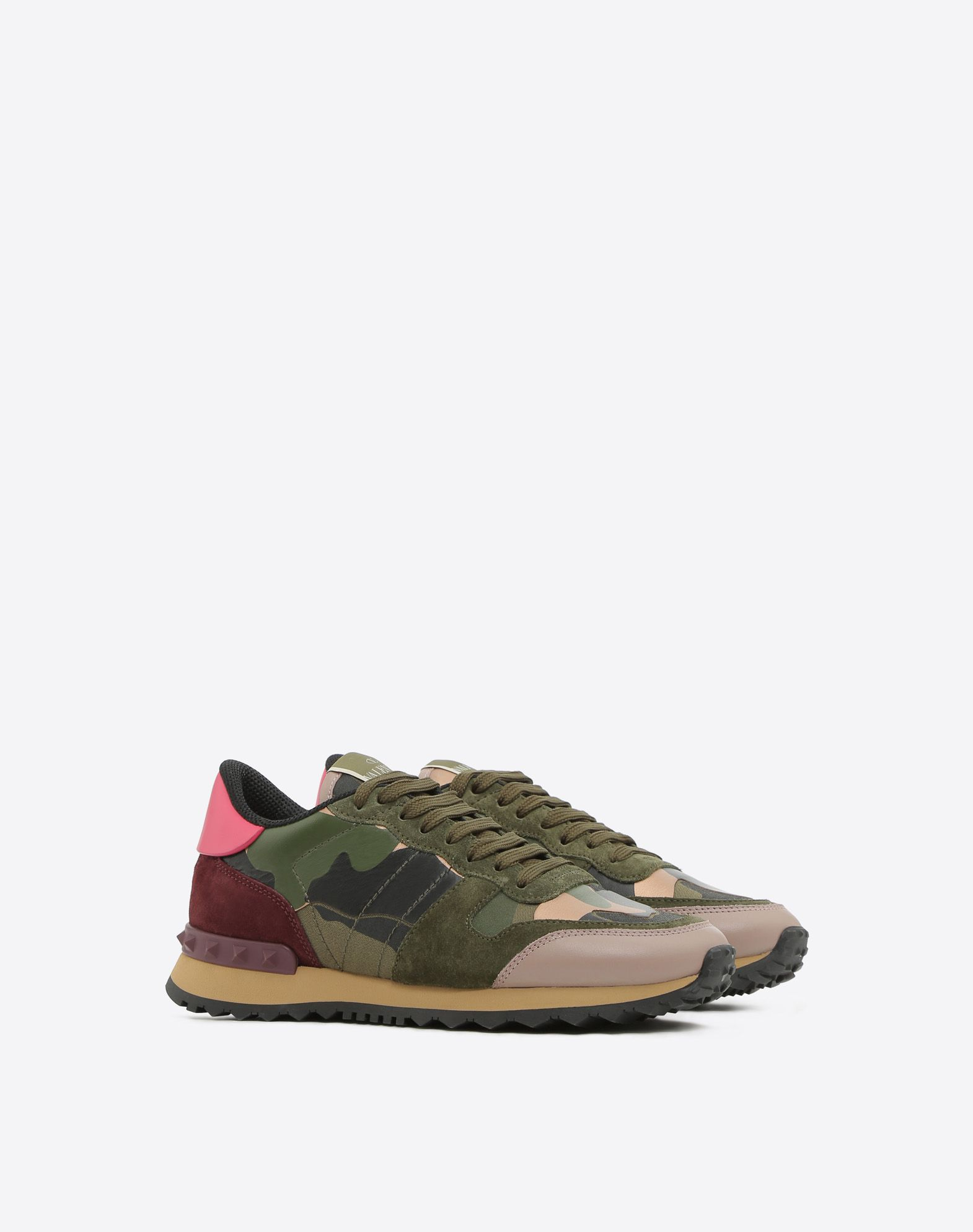 Valentino Women's Camouflage Low Top Sneaker cOD9g