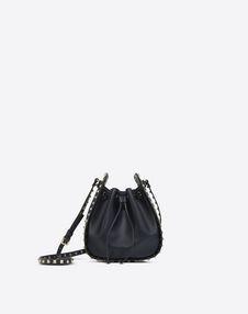 VALENTINO GARAVANI BUCKET BAG D Rockstud Small Bucket Bag f