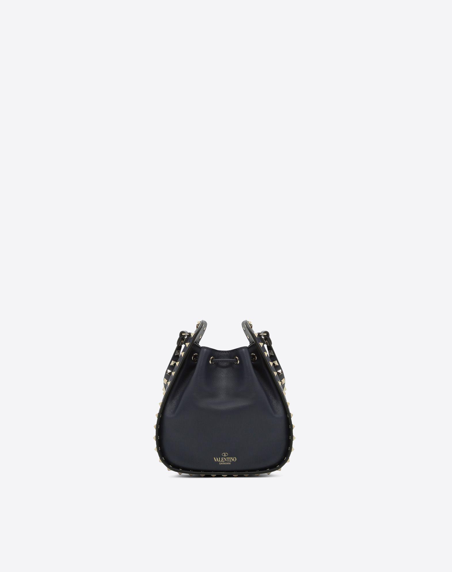 VALENTINO GARAVANI Rockstud Small Bucket Bag BUCKET BAG D d