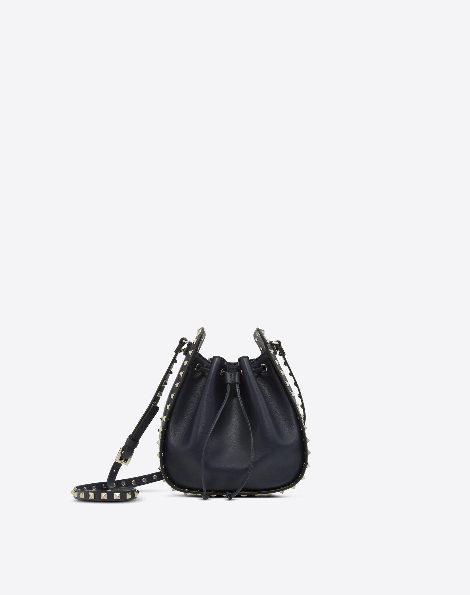 VALENTINO GARAVANI Rockstud Small Bucket Bag BUCKET BAG D f