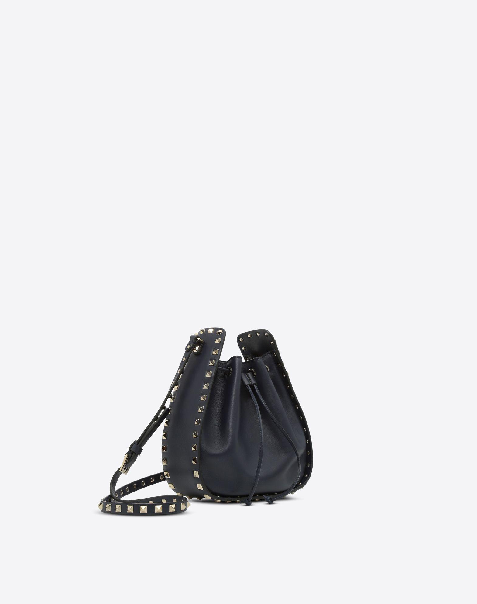 VALENTINO GARAVANI Rockstud Small Bucket Bag BUCKET BAG D r