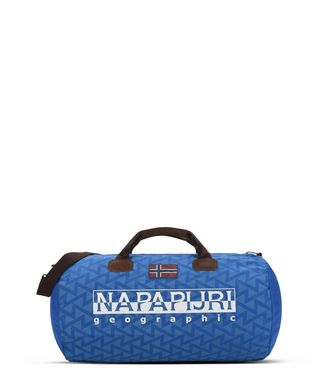 NAPAPIJRI BERING PRINT  TRAVEL BAG,AZURE