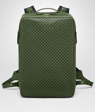 IVY CALF GRID BRICK BACKPACK