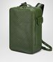 BOTTEGA VENETA IVY CALF GRID BRICK BACKPACK Messenger Bag Man rp