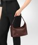 BOTTEGA VENETA DARK BAROLO INTRECCIATO NAPPA SMALL SHOULDER BAG Shoulder Bag Woman ap