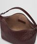 BOTTEGA VENETA DARK BAROLO INTRECCIATO NAPPA SMALL SHOULDER BAG Shoulder Bag Woman dp
