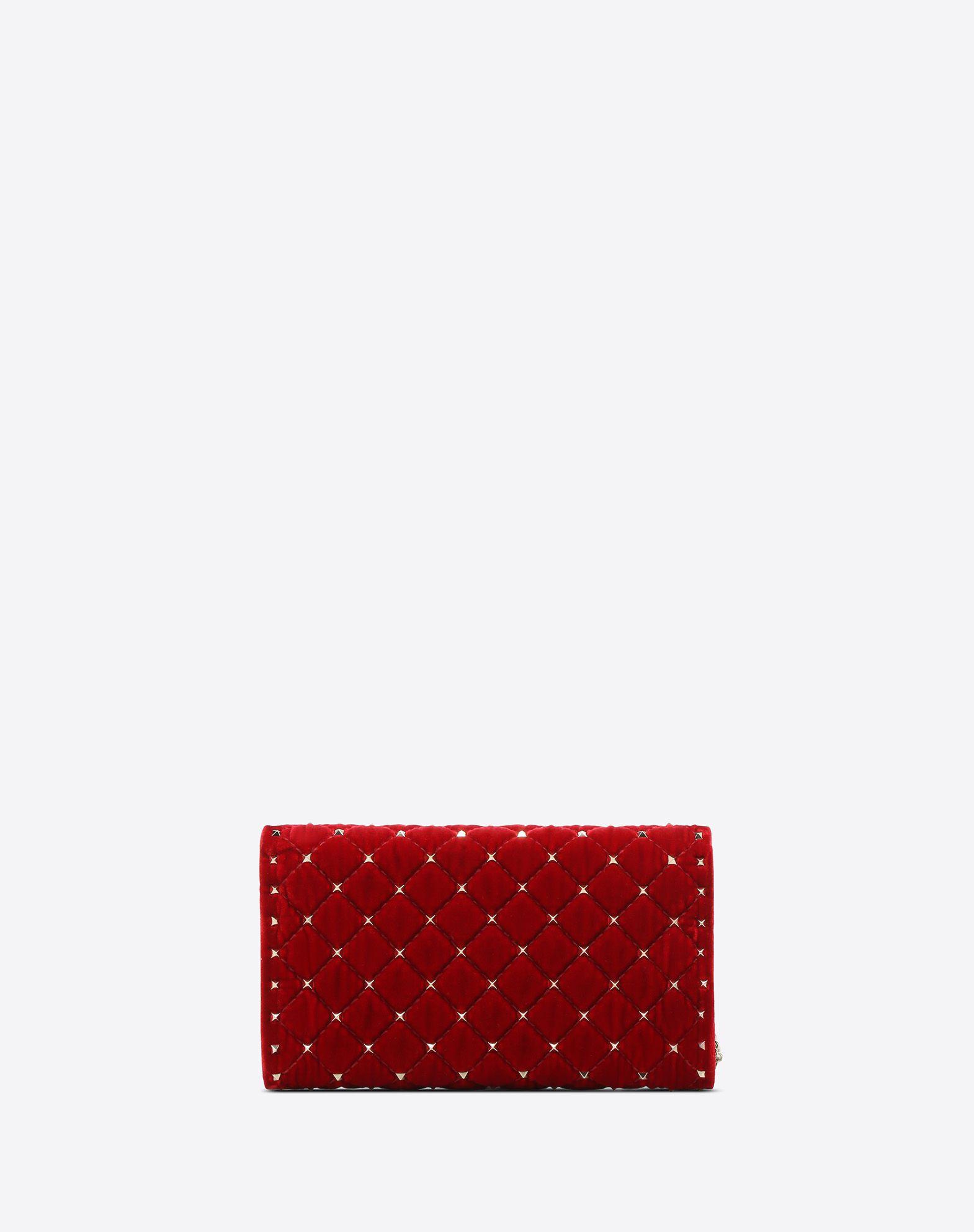 VALENTINO GARAVANI Rockstud Spike Chain Bag CROSS BODY BAG D d
