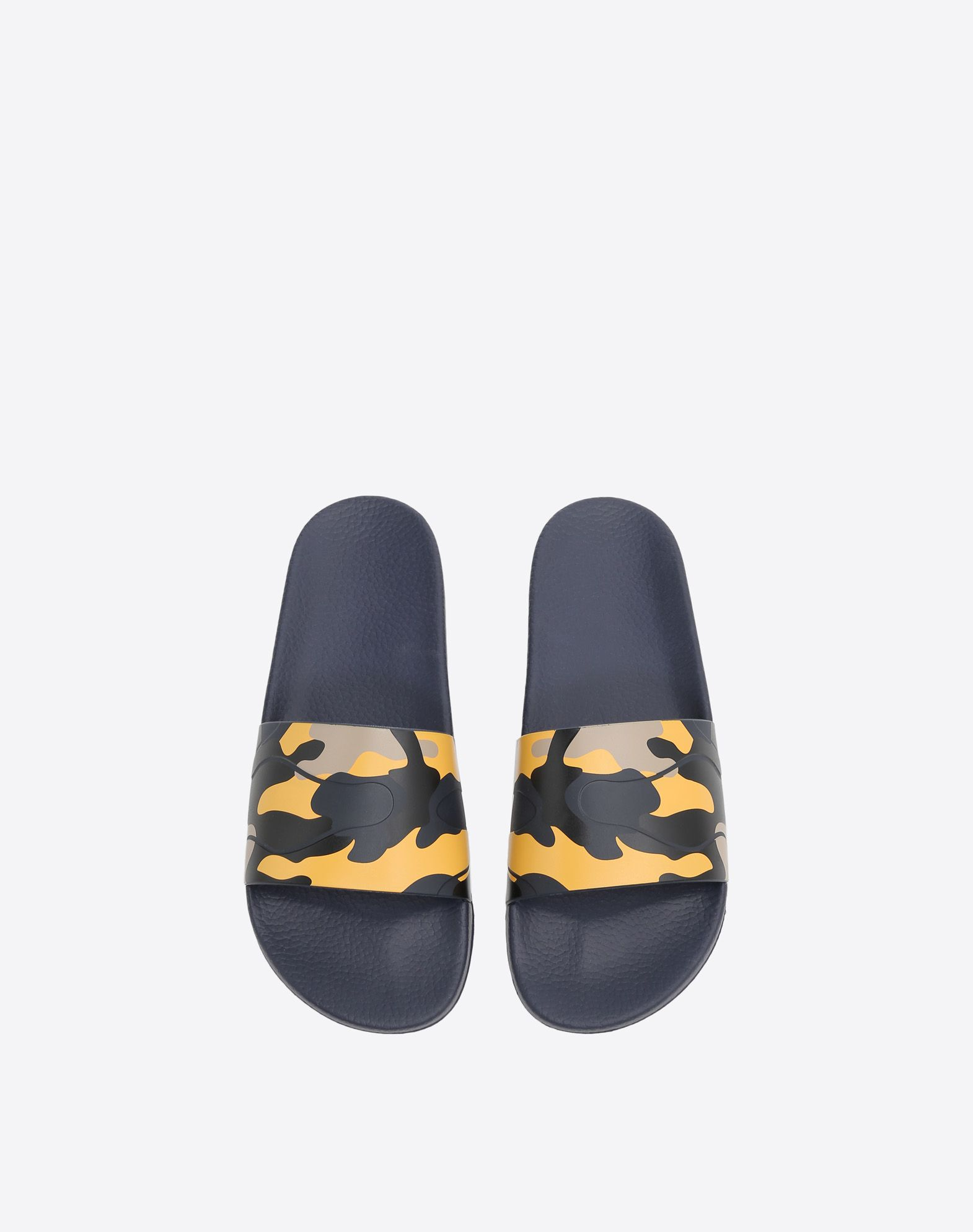 VALENTINO GARAVANI UOMO Camouflage 拖鞋式凉鞋 橡胶拖鞋式凉鞋 U e