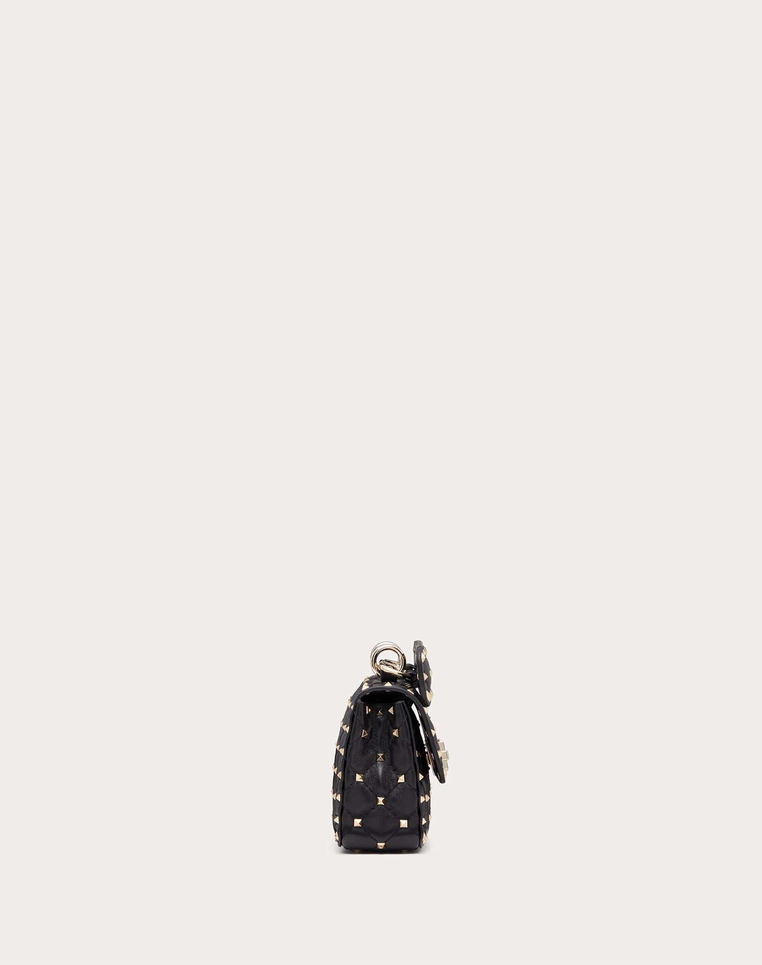 VALENTINO GARAVANI Rockstud Spike Small Chain Bag Shoulder bag D a