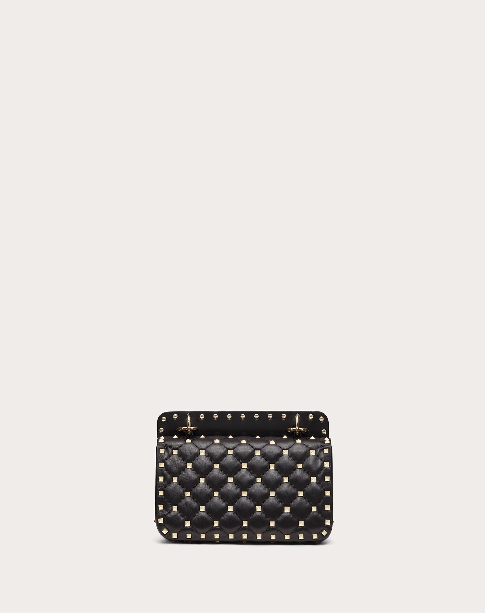 VALENTINO GARAVANI Rockstud Spike Small Chain Bag Shoulder bag D d