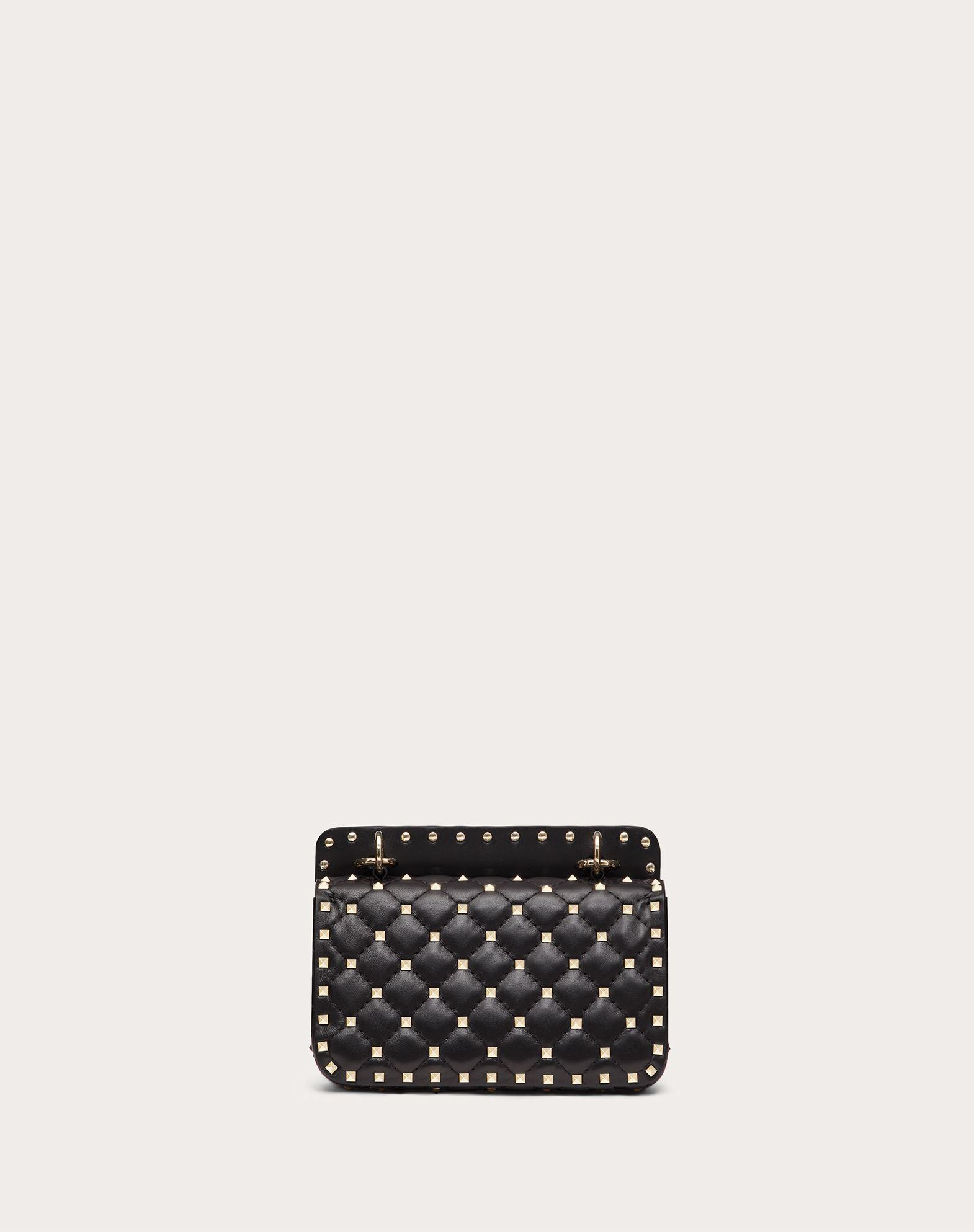 VALENTINO GARAVANI Rockstud Spike Small Chain Bag Shoulder bag D e
