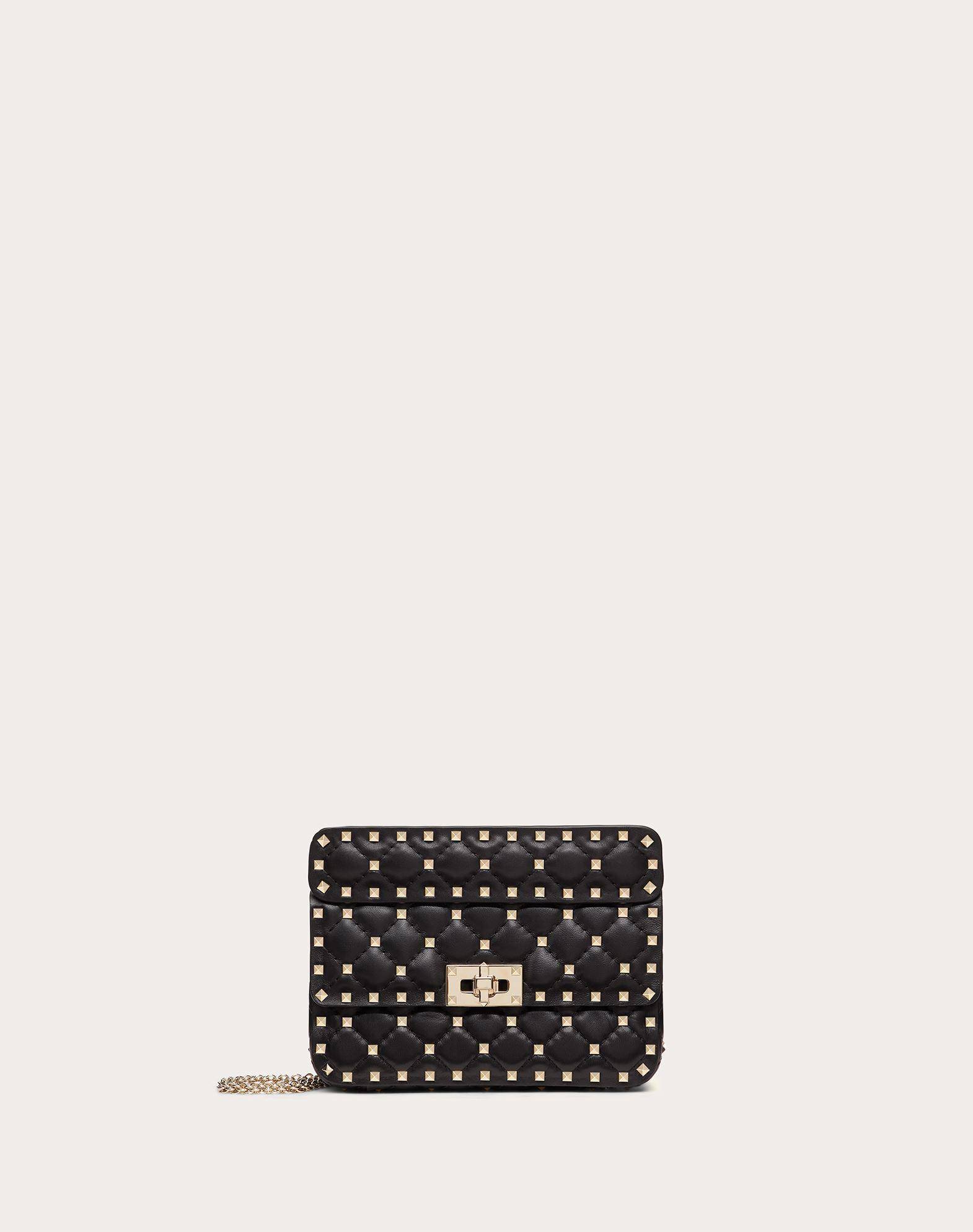 VALENTINO GARAVANI Rockstud Spike Small Chain Bag Shoulder bag D f