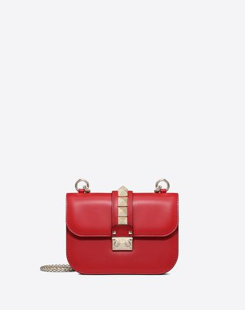 VALENTINO GARAVANI CROSS BODY BAG D Small Rockstud Cross-body Bag f