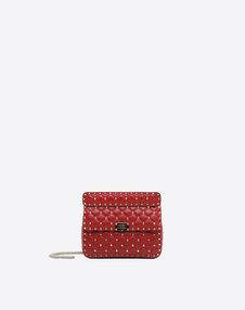 VALENTINO GARAVANI Shoulder bag D Rockstud Spike Medium Chain Bag f