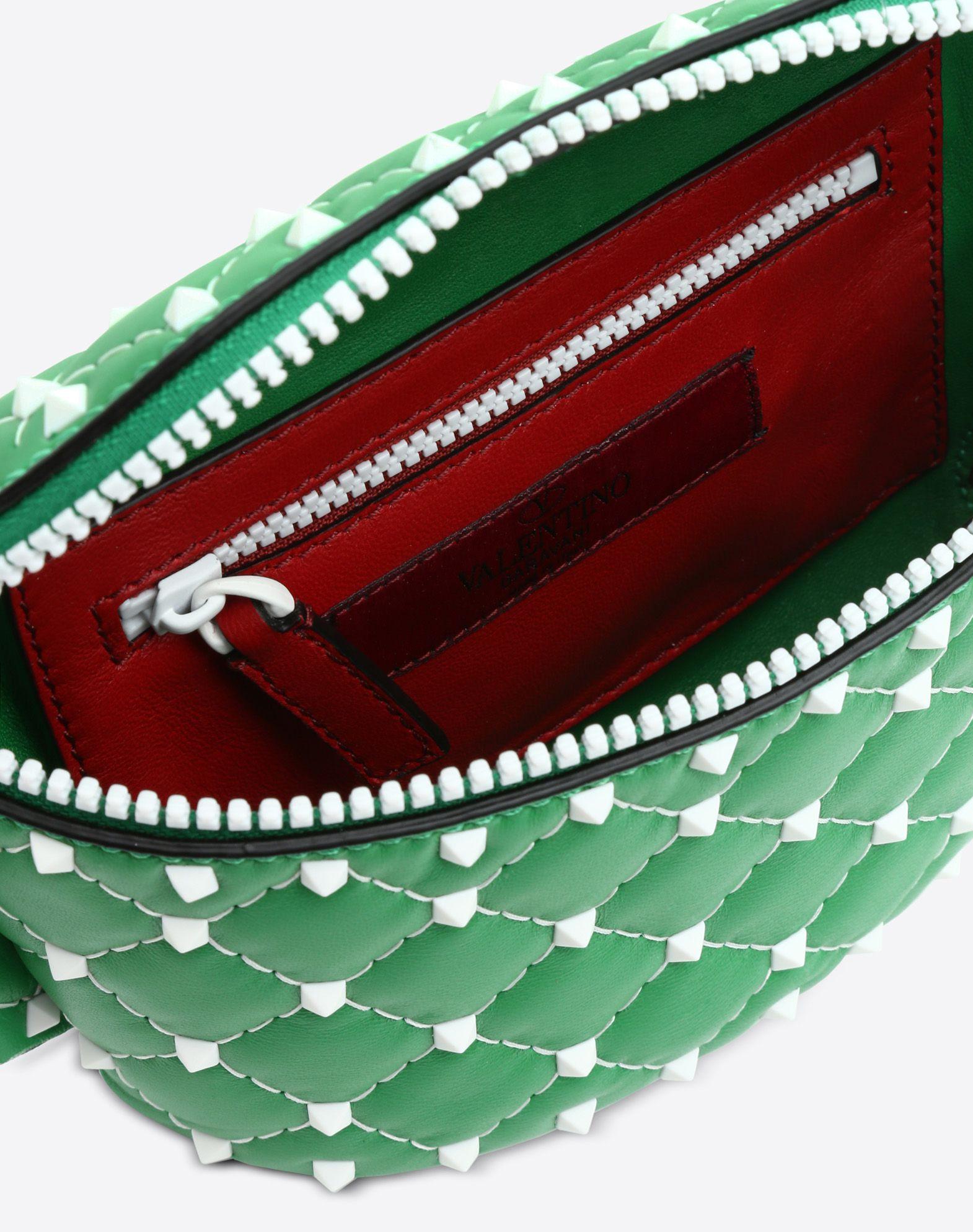 VALENTINO GARAVANI Free Rockstud Spike Belt Bag BUM BAG D e