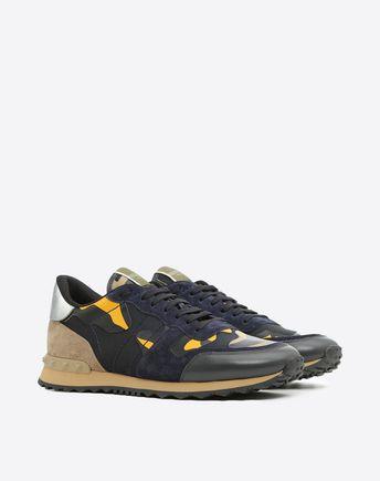 VALENTINO GARAVANI UOMO Sneaker Low-Top U Sneaker Rockrunner Camouflage r