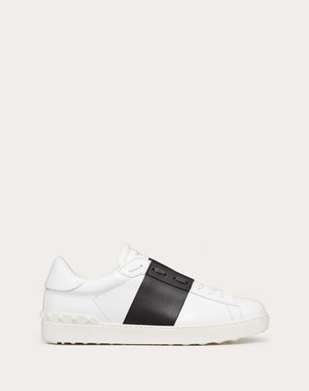 VALENTINO GARAVANI UOMO LOW-TOP SNEAKERS U Open low-top sneaker f