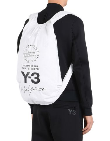 Y-3 YOHJI BACKPACK BAGS man Y-3 adidas