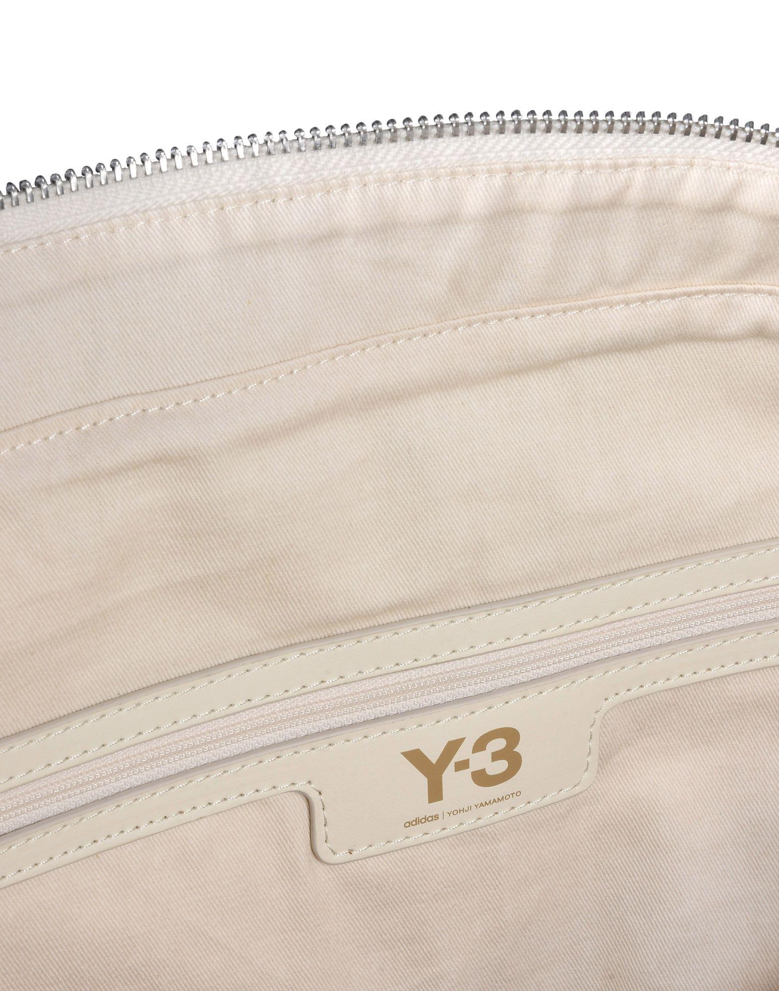 Y-3 Y-3 TOTE BAG Средняя сумка из текстиля E a