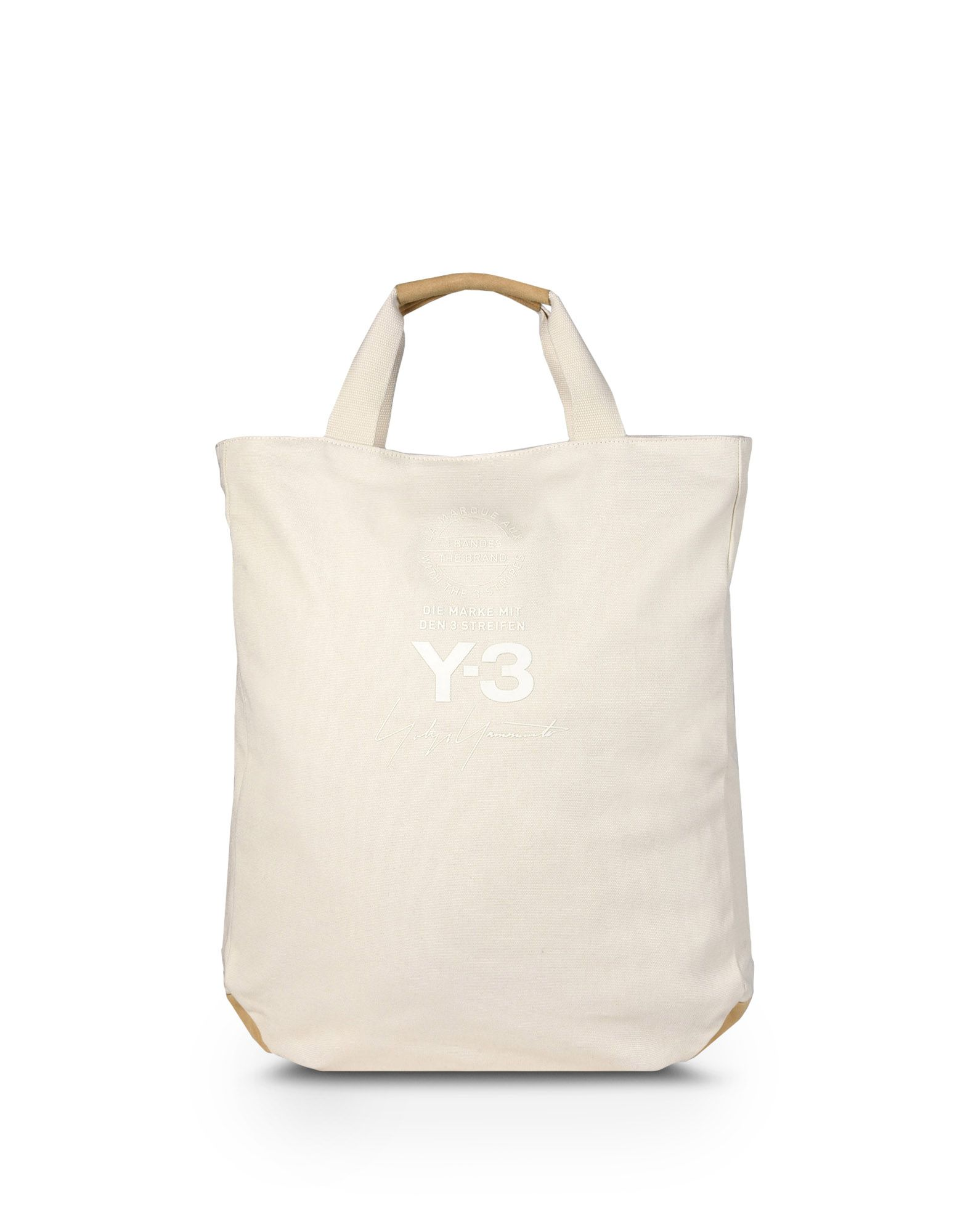 Y-3 Y-3 TOTE BAG Средняя сумка из текстиля E f