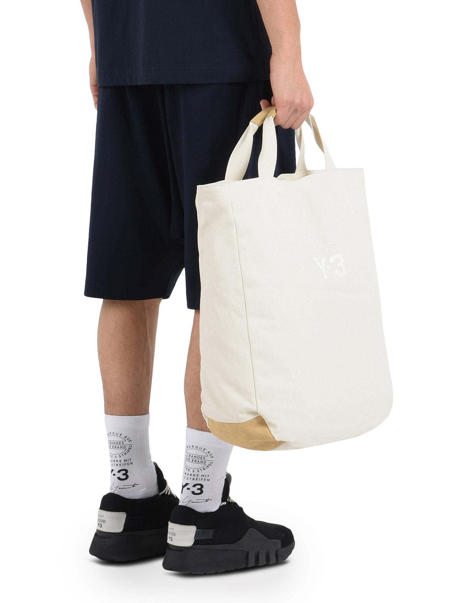 Y-3 Y-3 TOTE BAG Средняя сумка из текстиля E r