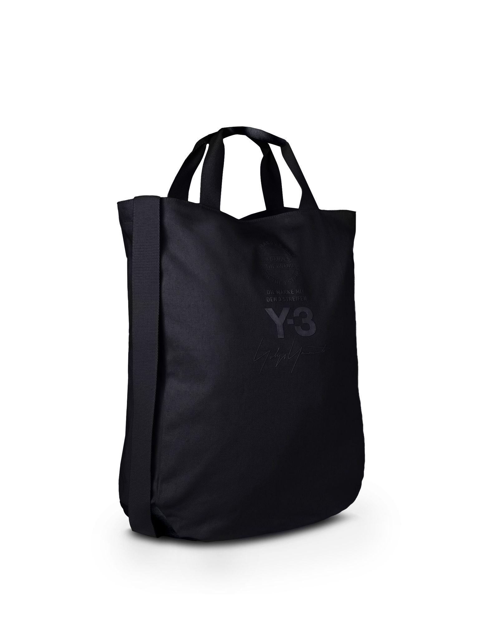 Y-3 Y-3 TOTE BAG Средняя сумка из текстиля E d