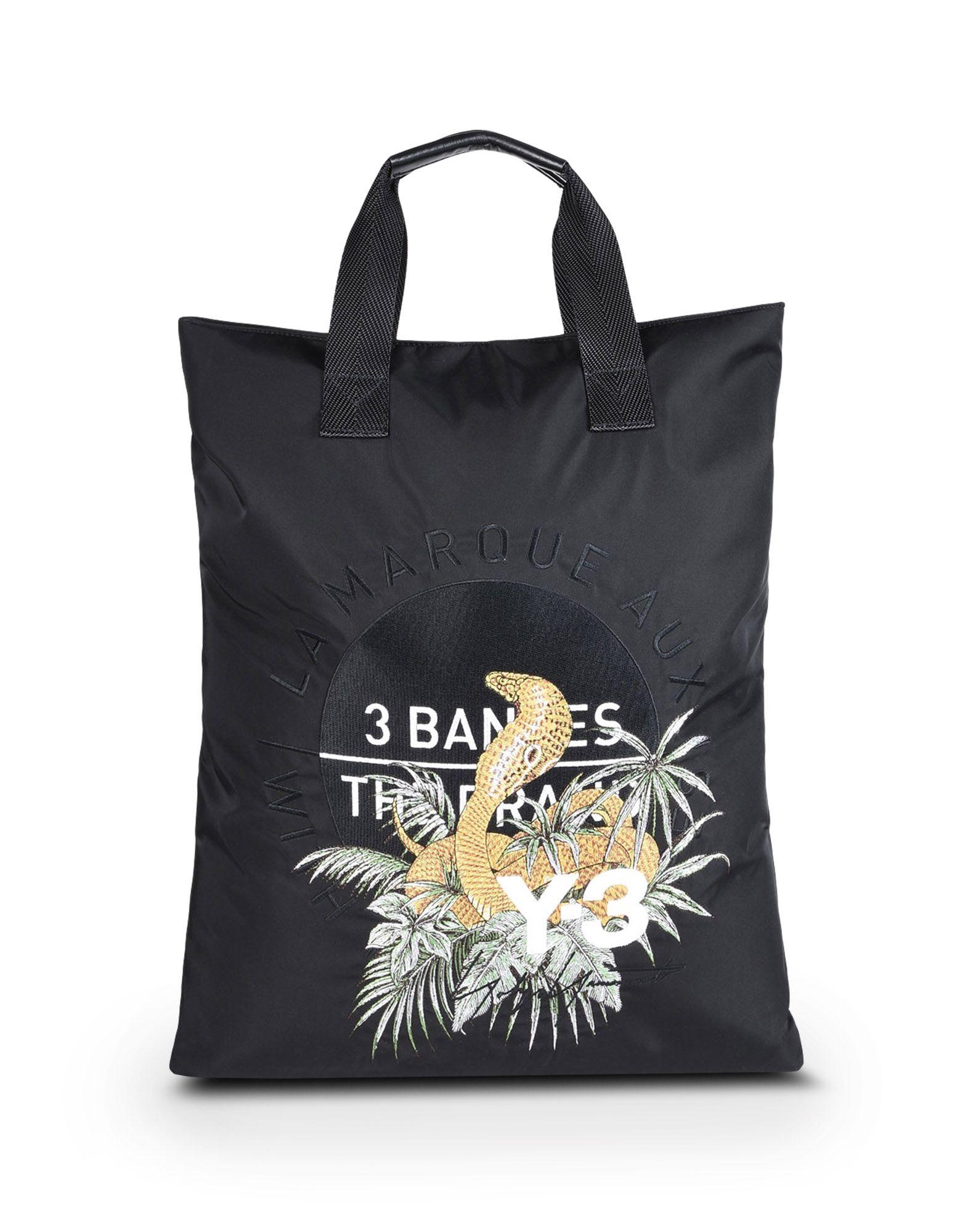 Y-3 Y-3 TOTE BAG Medium fabric bag E f