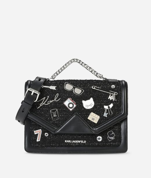 KARL LAGERFELD K/Klassik Pins Shoulderbag 12_f