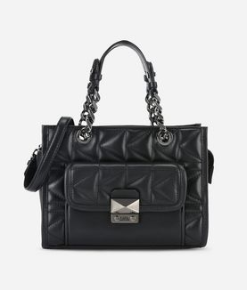 KARL LAGERFELD K/KUILTED MINI TOTE BAG
