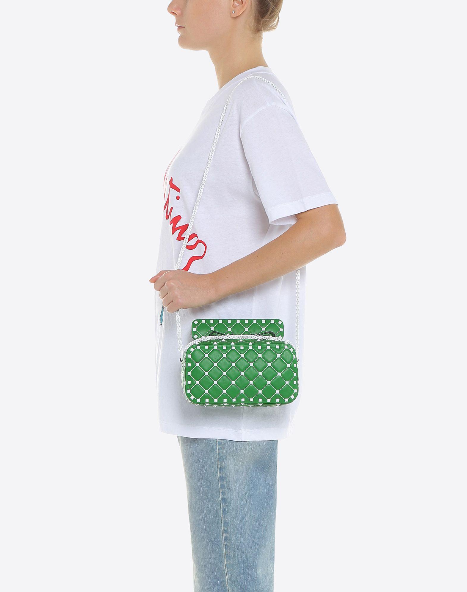 VALENTINO GARAVANI Free Rockstud Spike Camera Bag Shoulder bag D a