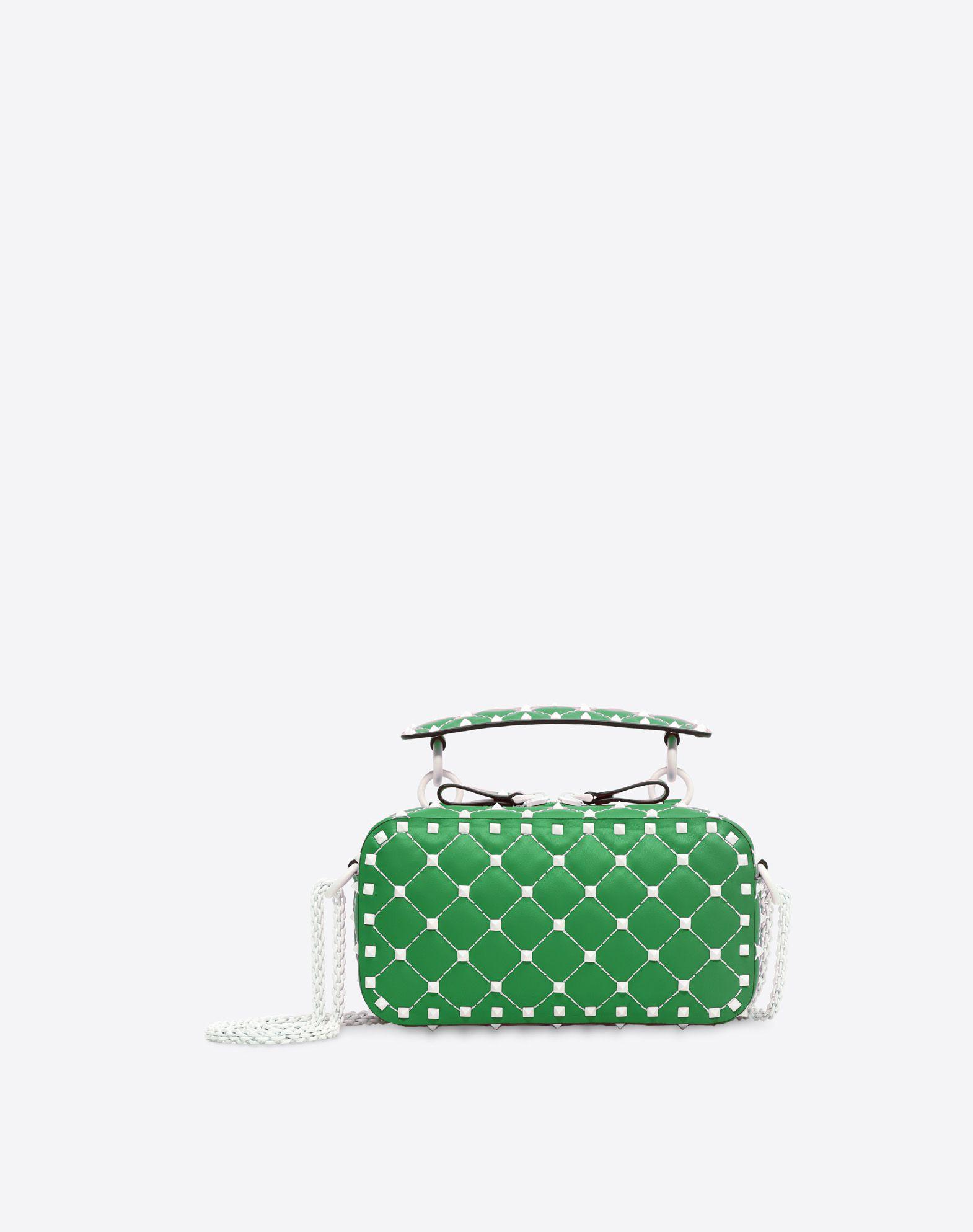 VALENTINO GARAVANI Free Rockstud Spike Camera Bag Shoulder bag D f