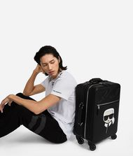 KARL LAGERFELD K/Ikonik Trolley Carry-on E d