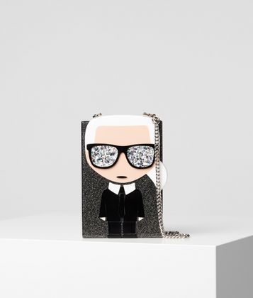 KARL LAGERFELD K/IKONIK CLUTCH IN BOX-FORM