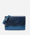 KARL LAGERFELD K/Signature Glaze Shoulder Bag 8_f