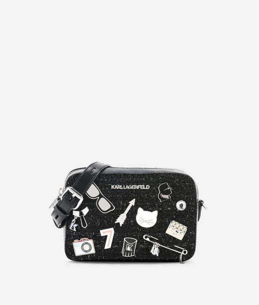 KARL LAGERFELD K/Klassik Pins Camera Bag 12_f