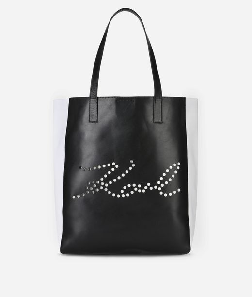 KARL LAGERFELD K/Signature Perforated Shopper 12_f