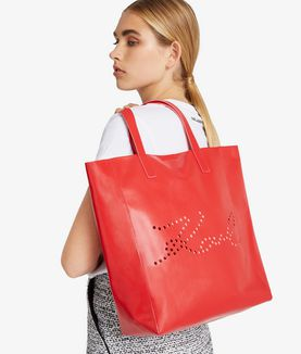 KARL LAGERFELD K/SIGNATURE PERFORATED SHOPPER